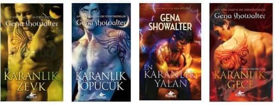 Gena Showalter - Karanlığın Efendileri Serisi