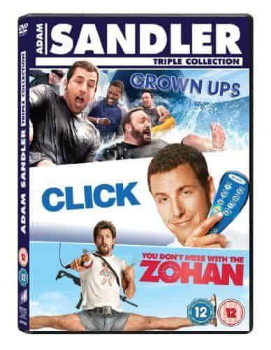 Adam Sandler Tüm Filmleri | Box Set | BRRip | Türkçe Dublaj