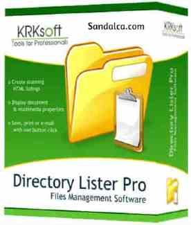 Directory Lister Pro Full 2.35 Enterprise Edition İndir