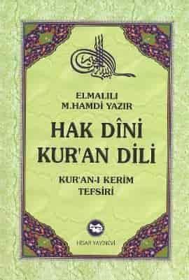Hak Dini Kur'an Dili - Elmalılı Hamdi Yazır