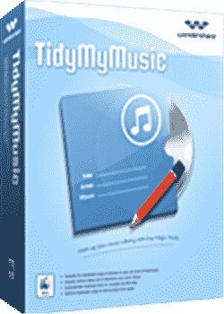 Wondershare TidyMyMusic Full v2.1.0.3 İndir