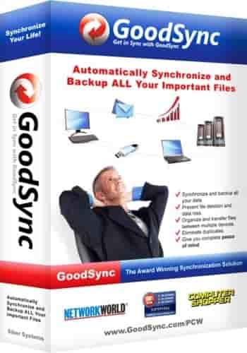 GoodSync Enterprise v10.9.33.3 Türkçe Full indir