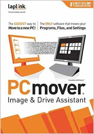 Laplink Software PCmover Image & Drive Assistant