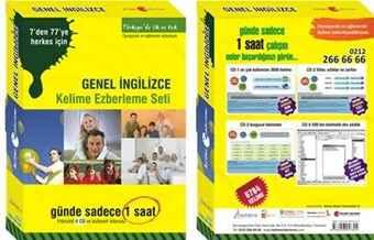 Genel İngilizce : İngilizce Kelime Ezberleme Seti indir 4 CD