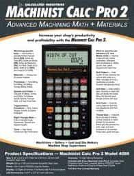 Calculated Industries Machinist Calc Full indir