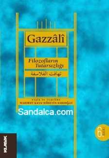 Gazali – Filozofların Tutarsızlığı (Tehâfüt-ül Felâsife) PDF e-kitap indir