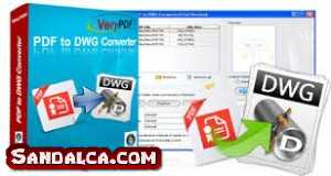 Any PDF to DWG Converter Full 2017 indir