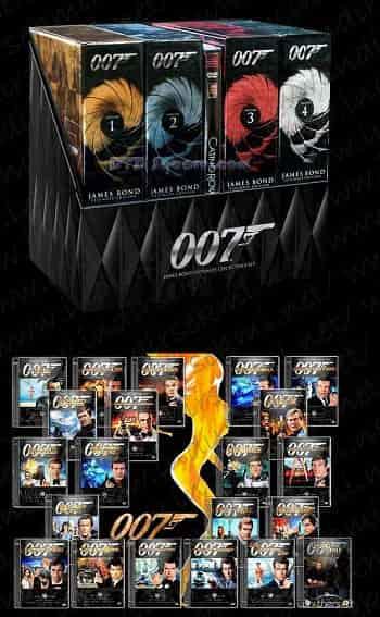 James Bond BoxSet indir