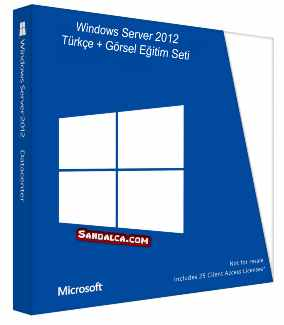 Windows Server 2012 Görsel Eğitim Seti İndir