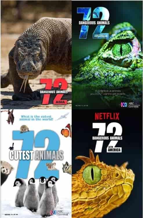 72 Dangerous Animals – Cutest Animals | 1080p DUAL | 2014-2018