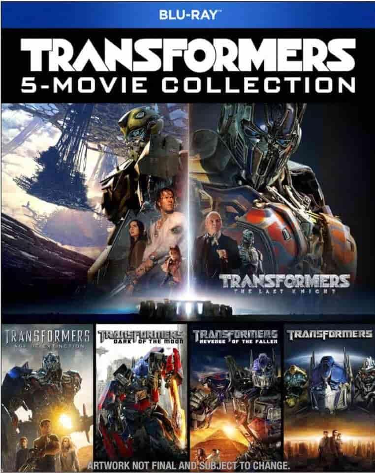 Transformers Boxset indir 1-2-3-4-5 | 4k 2160p DuaL | Boxset