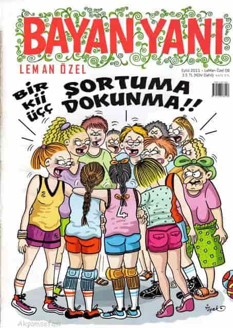 Bayan Yanı Mizah Dergisi 2011-2019 Tüm Sayılar PDF indir