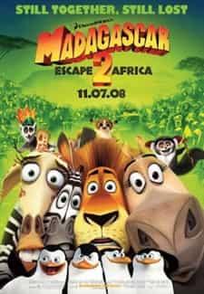 Madagaskar 2 Türkçe Dublaj indir | 1080p – BRRip | 2008