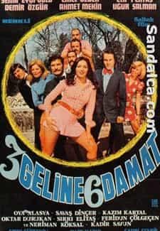 3 Geline 6 Damat indir | 1080p | 1975