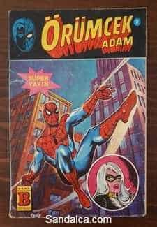 Örümcek Adam Süper Seri Çizgi Roman PDF indir