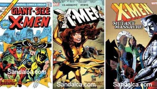 X-Men Çizgi Roman Serisi PDF indir