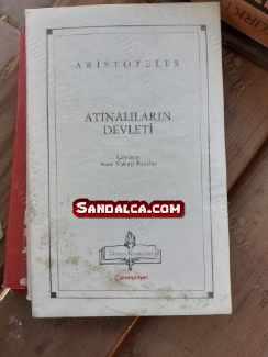 Aristoteles Atinalıların Devleti PDF ePub indir