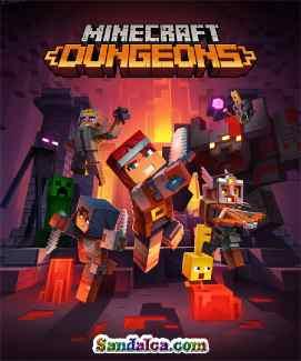 Minecraft Dungeons Full indir – Multiplayer + 2 DLC