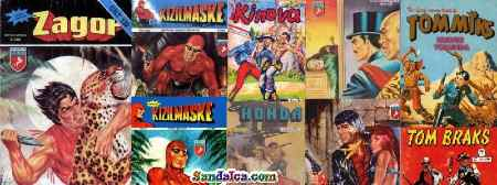 Spiderman – Tex – Teksas – Tommiks – Zagor – Conan – Kızılmaske Eksik Sayılar PDF indir