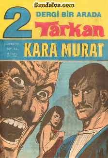 Tarkan – Kara Murat Çizgi Roman PDF indir | 1992