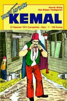 Ustura Kemal Çizgi Roman Serisi PDF indir | 1974