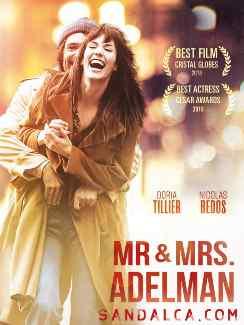 Bay ve Bayan Adelman – Mr & Mme Adelman Türkçe Dublaj indir | 2017