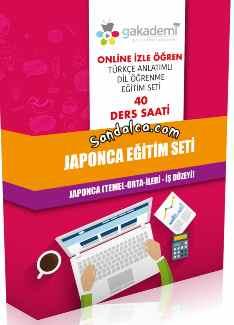 Görüntülü Akademi Japonca Görsel Eğitim Seti indir