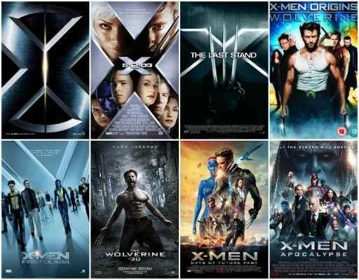 X-Men Serisi indir   DUAL   5 Film